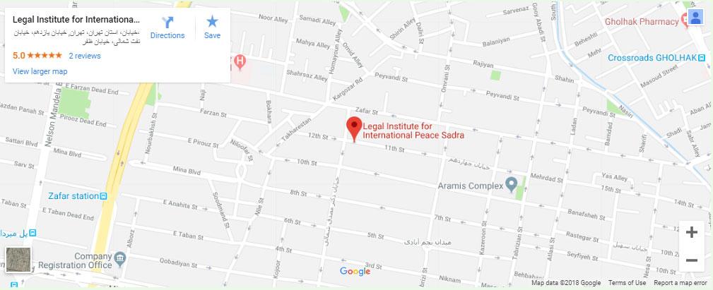تماس با ما بهترین وکیل در تهران